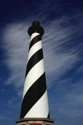 A view of Cape Hatteras Lighthouse. Photo