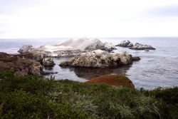 Bird Rock at the south end of Point Lobos State Reserve Photo