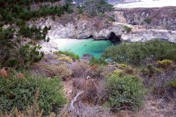 China Cove at the south end of Point Lobos State Reserve. Photo