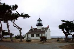 The Point Pinos Lighthouse. Photo