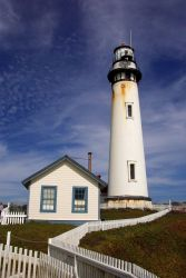 Pigeon Point Lighthouse, 27 miles north of Santa Cruz along Highway 1 Photo