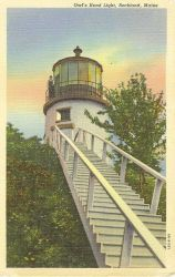 Owl's Head Light Photo