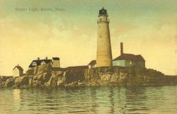 Boston Light Photo