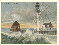 Coney Island Light Photo