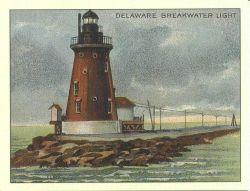 Delaware Breakwater Light Photo
