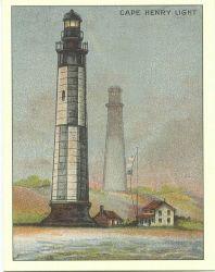 Cape Henry Light Photo
