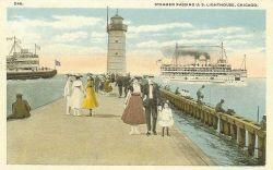 Chicago Lighthouse Photo