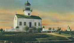 Upper Point Loma Lighthouse Photo