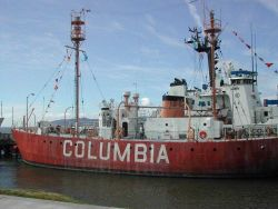 Columbia River Lightship Photo