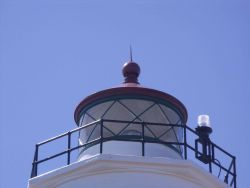 New Dungeness Lighthouse lantern Photo