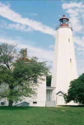 Sandy Hook Lighthouse. Photo