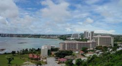 Tumon Bay resort area. Photo