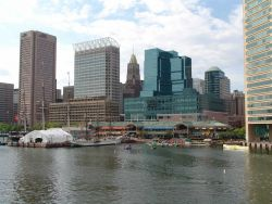 A view of the Inner Harbor. Photo