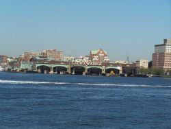 The Lackawanna railroad-ferry terminal at Hoboken. Photo