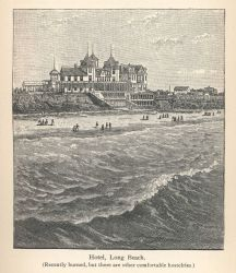 The major hotel at Long Beach which unfortunately burned, but