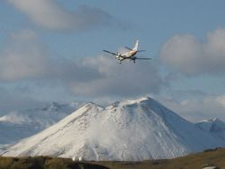 Looking for an airport? No, just making the final approach to Dutch Harbor Airport Photo