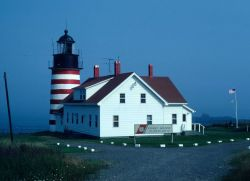 West Quoddy Head Lighthouse Photo