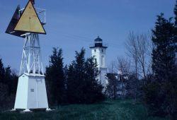 Stony Point Lighthouse along the St Photo