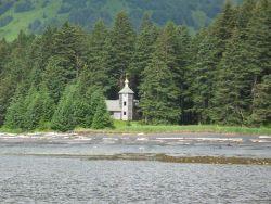 Russian Orthodox Church shrine ? at Monk's Lagoon Photo