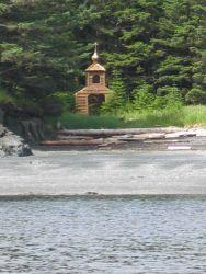 Russian Orthodox Church chapel at Icon Bay Photo