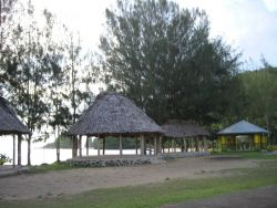 A roadside park on the western coast Photo