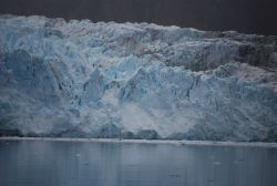 Front of Margerie Glacier. Photo
