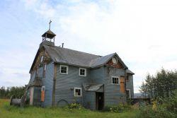 Former Catholic Mission at Pilgrim Hot Springs on the Pilgrim River, Imuruk Basin Photo