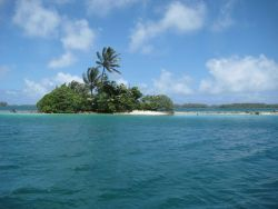 A tropical islet Image