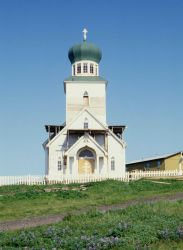 The Russian Orthodox Church on St Photo