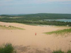 Cottonwood Trail dune climb Photo