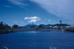 A view of Mount Edgecumbe. Photo