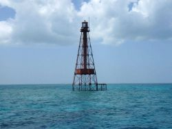 Sombrero Key Lighthouse Photo