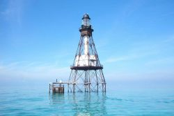 Fowey Rocks Lighthouse Photo