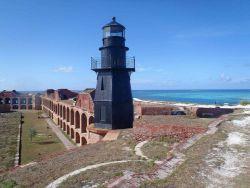 Fort Jefferson Lighthouse Photo