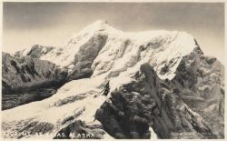 Postcard aerial view of Mt Photo