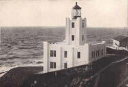 Scotch Cap Lighthouse prior to the earthquake of April 1, 1946 Photo