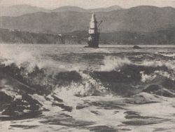 Mile Rock Lighthouse Photo