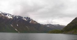 A quiet fjord used for calibrating acoustic gear on Kodiak Island Photo