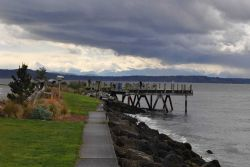 A beautiful little park along Puget Sound. Photo