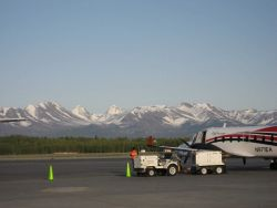 The Anchorage airport Photo