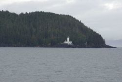 Cape Decision Lighthouse, southeast Alaska. Photo