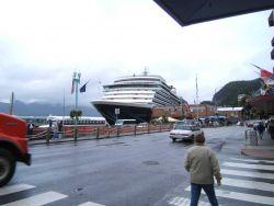 Cruise ship at Ketchikan Photo