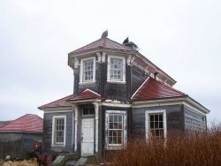 The old rectory of the Russian Orthodox Church at Dutch Harbor Photo