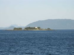 Guard Island Lighthouse. Photo
