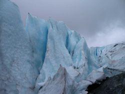 A view of Worthington Glacier. Photo