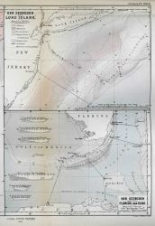 Full page presentation of the two maps shown in image map00019 and map00020 Photo