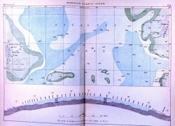 Map of the North Atlantic Ocean published on the eve of the CHALLENGER Expedition in