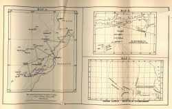 Maps of the track of the DACIA in 1883, the Bottomless Pit, and Congo Canyon, by Edward Stallibrass, a British telegraph engineer, as published in 188 Photo