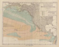 A map by Adolph Lindenkohl of the United States Coast and Geodetic Survey showing the specific gravity of the waters of the North Pacific Ocean Photo