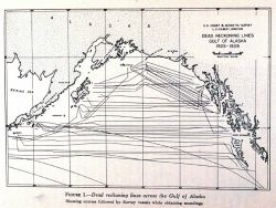 Systematic mapping of the Gulf of Alaska by C&GS ships going to and from their Alaska nautical charting surveys led to the discoveries shown in images Photo